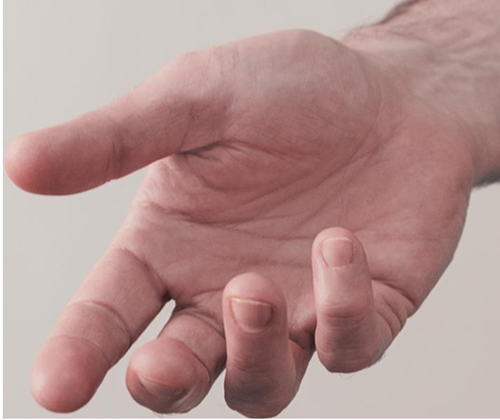 mano extendida